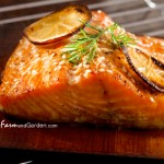 Cedar Plank Salmon Recipe (Lemon-Dijon Sauce)