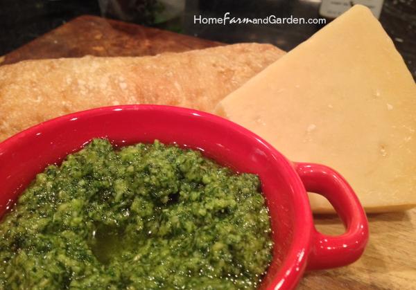 Fresh Basil Pesto Recipe with Toasted Pine Nuts