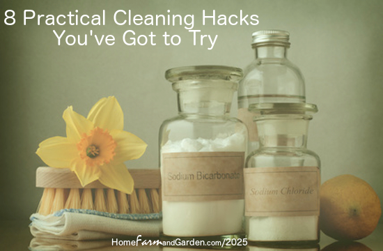 8 Practical Cleaning Hacks You've Got to Try