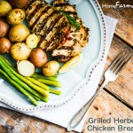 Herb Grilled Boneless, Skinless Chicken Breasts