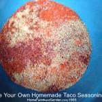 Look, Ma! No Chemicals! Homemade Taco Seasoning